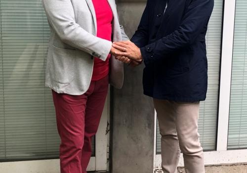 Вицепрезидента на Лацио посети…
